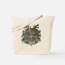Greenman Carving Tote Bag