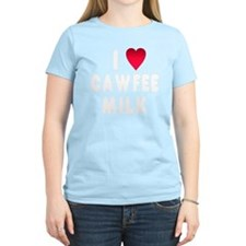 wht_luv_cawfee_milk T-Shirt