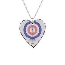 final curls logo Necklace Heart Charm