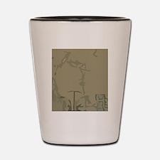 Latte5 Shot Glass