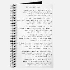 Jabberwocky - Curlz MT - Final - Flipped Journal