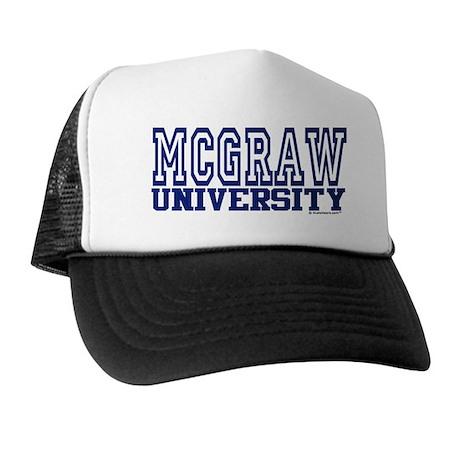 MCGRAW University Trucker Hat