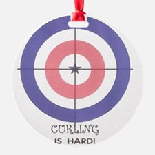 curling is hard Ornament