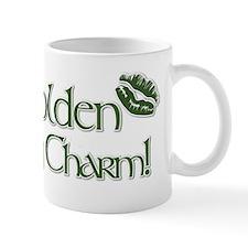 Golden_Lucky_Charm Small Mug