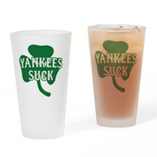 2-Yankees Suck St Patricks Day 2 Drinking Glass