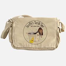 Scruffys Scrub Spot Messenger Bag