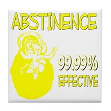 ABSTINENCEDARK Tile Coaster