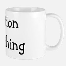 question everything back Mug
