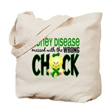 Kidney Disease Messed With Wrong Chick Tote Bag