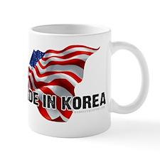 Made In Korea - USA flag - offensive sh Mug