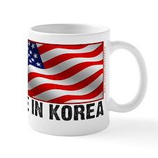 Made In Korea shirt - American flag - s Mug