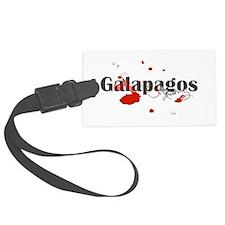 Galapagos Diver Luggage Tag