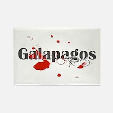 Galapagos Diver Rectangle Magnet