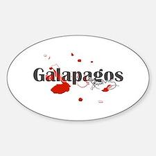 Galapagos Diver Decal