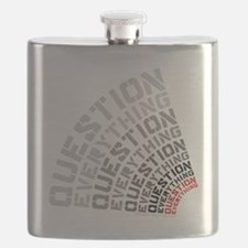 Question Everything free thinkers tee shirts Flask