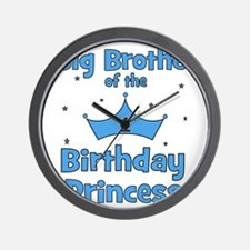 ofthebirthdayprincess_bigbrother Wall Clock