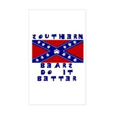 Southern Bears Rectangle Decal