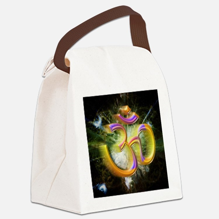 ohm Canvas Lunch Bag
