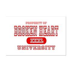 Broken Heart University Posters