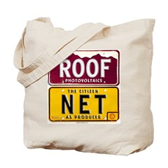 Roof Net Tote Bag