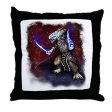 wrath-fade-edges Throw Pillow