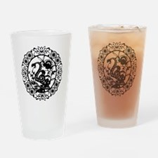 SnakeB1 Drinking Glass