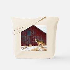 coyote barn Tote Bag