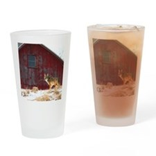 coyote barn Drinking Glass