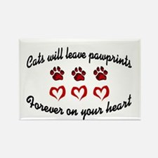 Cat Prints Rectangle Magnet