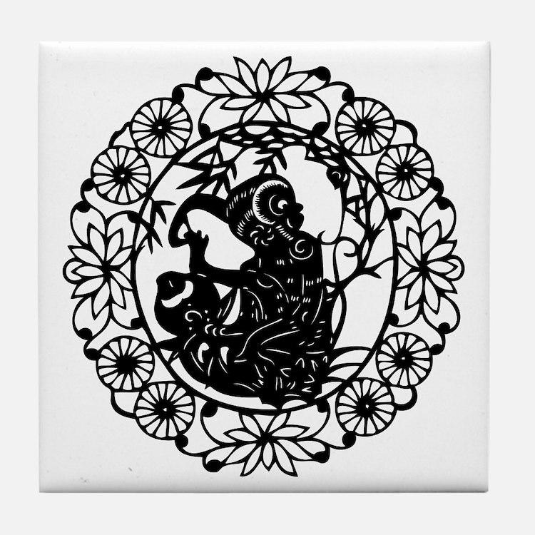 MonkeyB1 Tile Coaster