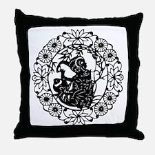 MonkeyB1 Throw Pillow