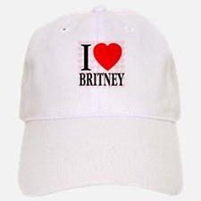 I Love Britney Baseball Baseball Cap