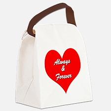 AlwaysandForever Canvas Lunch Bag