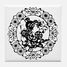 DogB1 Tile Coaster
