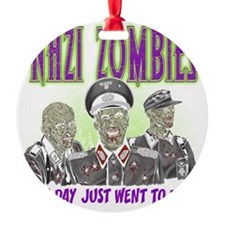 nazi zombies 1 Ornament