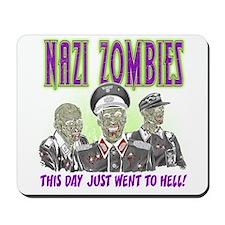 nazi zombies 1 Mousepad