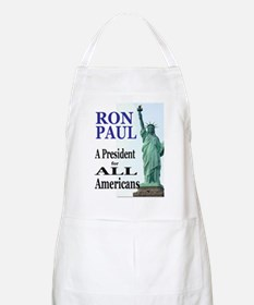 Ron Paul for America BBQ Apron