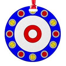 Curling Clock Ornament