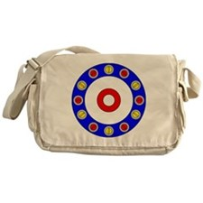 Curling Clock Messenger Bag