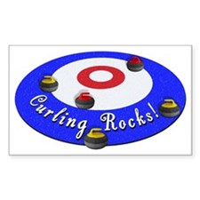 Curling Rocks WC Bumper Stickers