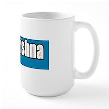 Hare-Krishna-Blue-Bumper-Sticker Mug