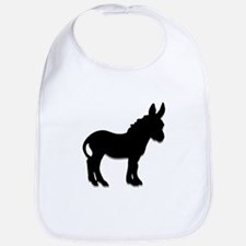 donkey waiting for love Bib