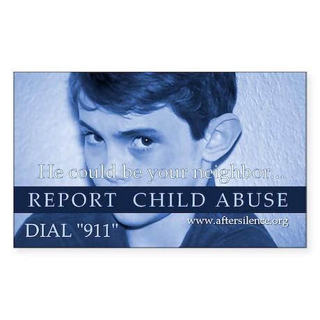 Report Rectangle Sticker