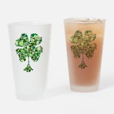 four-leaf-clover-compilation-two Drinking Glass