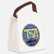 wrogers patch transparent Canvas Lunch Bag