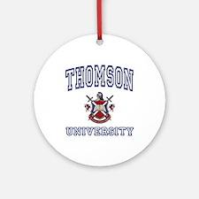 THOMSON University Ornament (Round)
