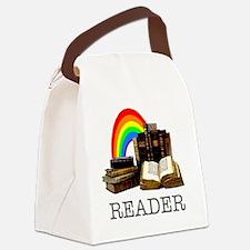 Reader-1 Canvas Lunch Bag