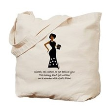 SISTAH WITH PLAN Tote Bag