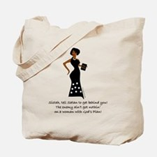 SISTAH WITH PLAN Tote Bag