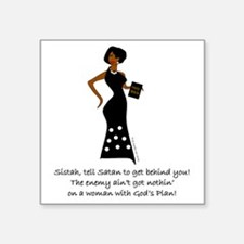 """SISTAH WITH PLAN Square Sticker 3"""" x 3"""""""